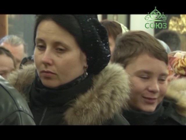 В день памяти преподобного Илариона, в Свято-Димитриевском монастыре была совер...