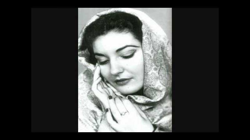 Maria Callas First Recital Qui la voce 1949*