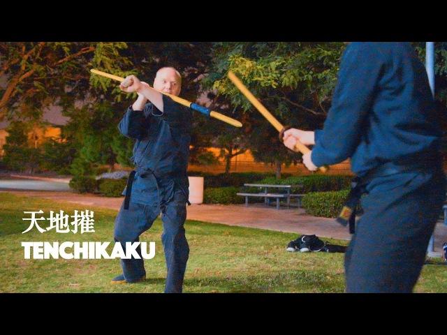 Bujinkan 槍術 Sojutsu Kata 天地摧 Tenchikaku Preview