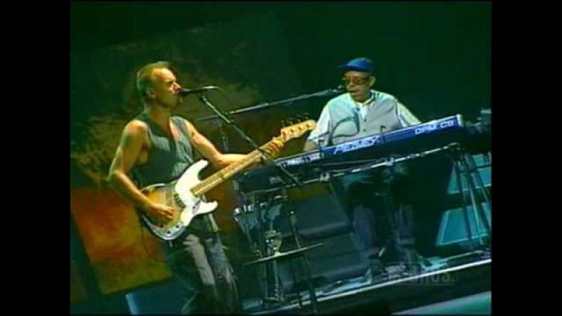 Sting I Hung My Head Live 1996