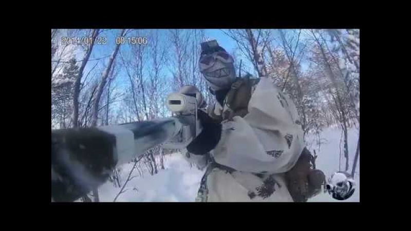ICESNIPE DEV Тренировка 4 марта 2018 снайпер в страйкболе