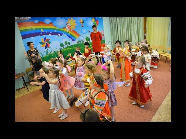 Воспитанники группы № 7 подготовили и показали для родителей сказку К. Чуковского Муха Цокотуха