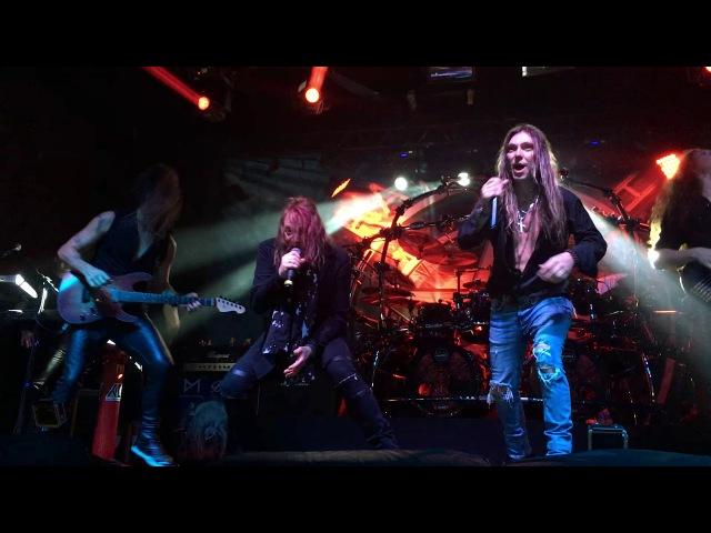 "Temple Of Hate Feat Kai Hansen Edu Falaschi Rebirth Of Shadows"" Live In São Paulo 21 01 2018"
