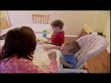 4Yr Hits Baby Brother At Dinner Table ( HD )
