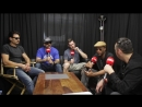 Prophets of Rage backstage at Download