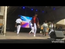 Afro house on the stage by Os Moikanos