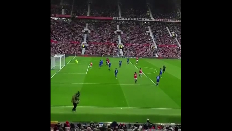 Antonio Valencia's rocket from the stands
