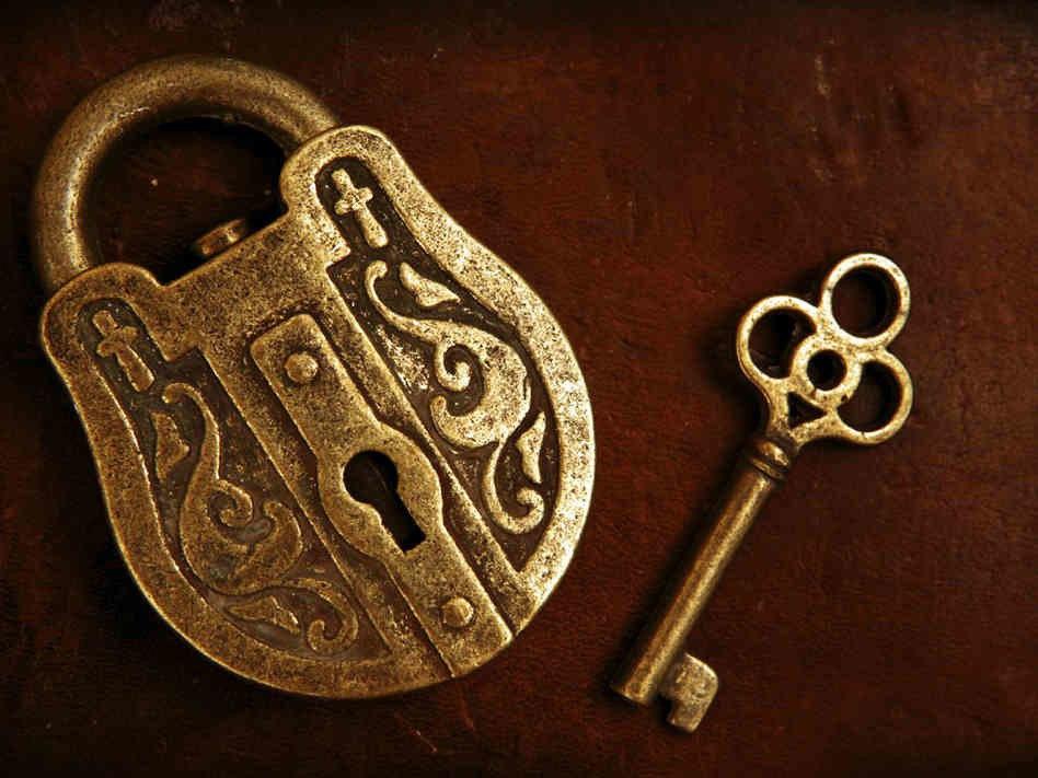 картинки замок с ключиком