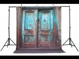 Life Magic Box Vinyl Wood Door Wood Background Backdrop Design Digital Backdrops Studio Backdrop Vinyl Photography Backdrops