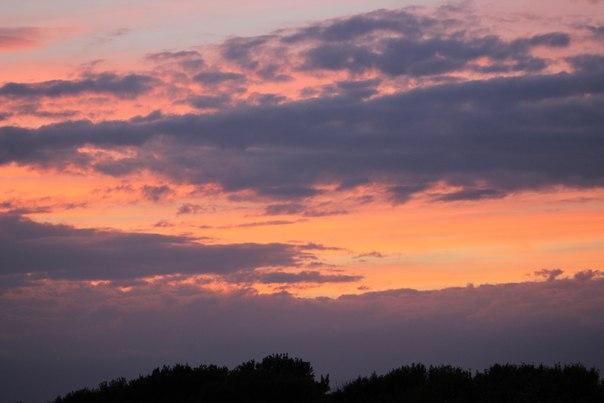 Закат в селе 18.06.2017🔥#безфильтра