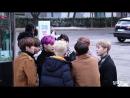 FANCAM | 24.11.17 | Jun, Chan @ Arriving at Music Bank (The Unit)