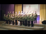 Егор. патриотическая песня в школе. 3 место.