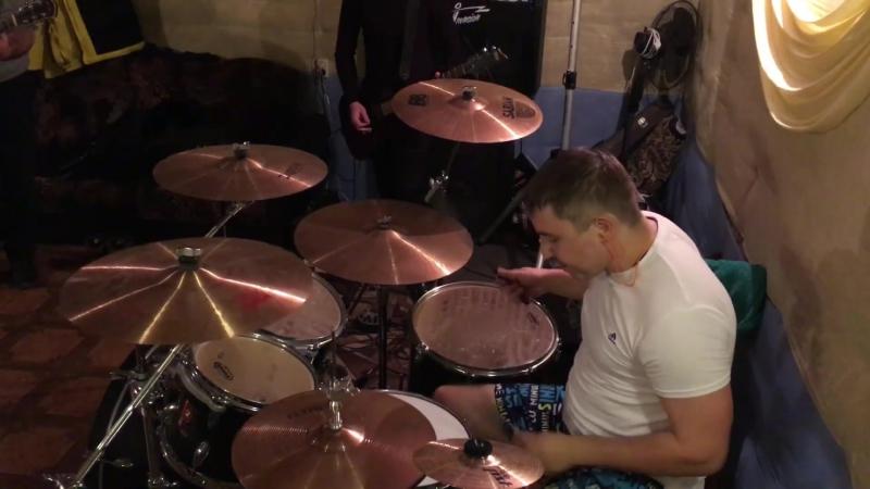 Лесник (DrumCam) Повторение - мать учения v.1 (Live_16/01/18)