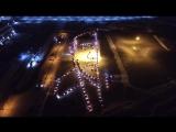 Флешмоб в поддержку Путина в Хабаровске