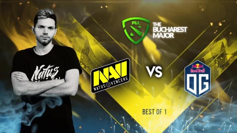 NAVI vs OG @The Bucharest Major