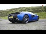 Зажигание 185: McLaren 570S - Бескомпромиссный суперкар-кабриолет?
