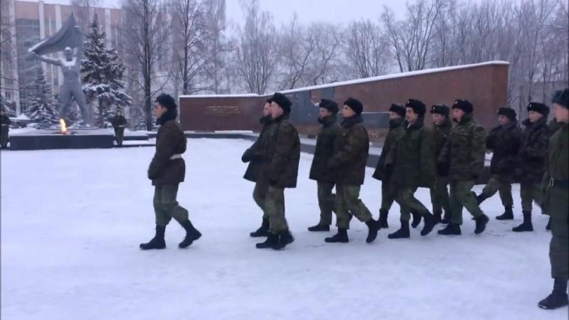 Студенты Ижевского политехнического колледжа на Посту №1