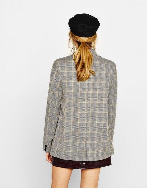 Пиджак прямого кроя