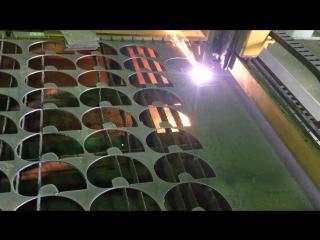 Резка лопастей на станке плазменной резки с ЧПУ
