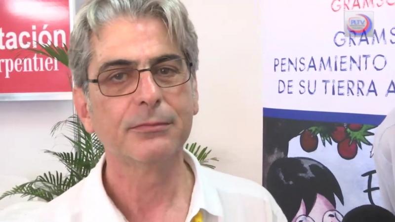 Presentan libro inédito de Gramsci en Feria del Libro de La Habana