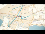 Первышову представили проект «канатного метро». Вот так это должно выглядеть по замыслу придумщиков.