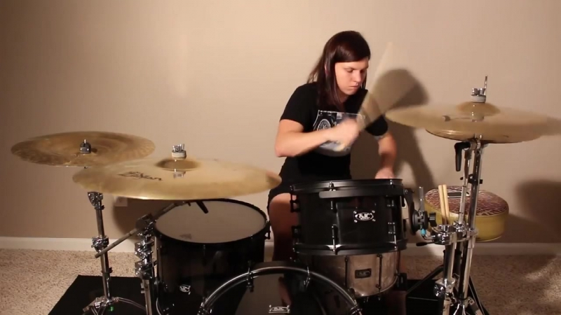 Brittany Harrell of Veara – The Worst Part Of You (Drum Play Through)