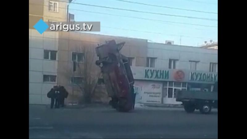 Казусное ДТП в Улан-Удэ