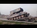 Сирия, декабрь 2017 Прибытие ТОС-1А «Солнцепёк» на юг провинции Идлиб!