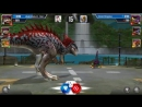 8v Jurassic WorldИгра