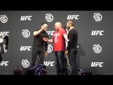 MMAnytt.se Tony Ferguson vs Khabib Nurmagomedov Staredown l UFC 223