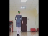 Kizomba Lady | Daria Shcherbakova | Improvising| 02.2018