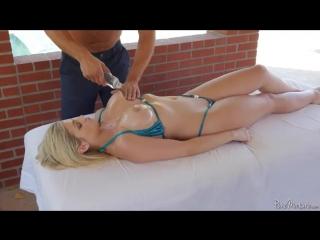Секс сиски массаж в масле