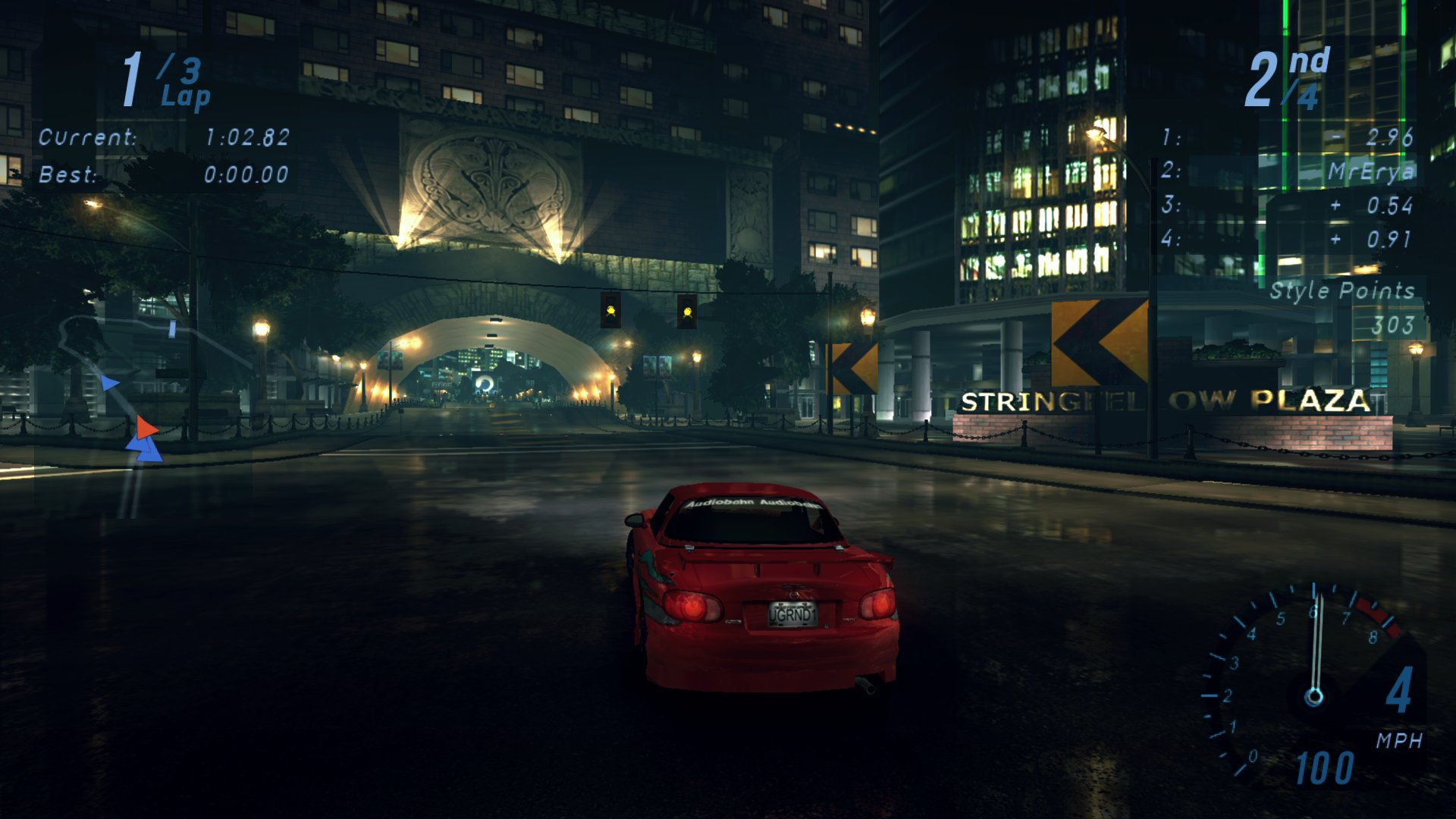 NFS: Underground: Redux Mod для Другие игры - Скриншот 2