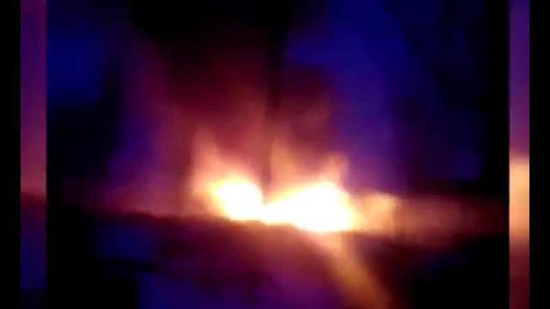 В Опытном детонирует склад со снарядами ВСУ
