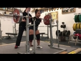 Мария Хти - присед 182,5 кг