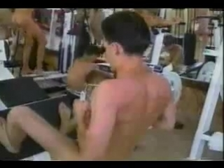 Фитнесс голышом