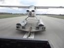 Взлет гидросамолета с прицепа за автомобилем