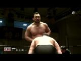 Hideki Suzuki, Kohei Sato (c) vs. Masayuki Okamoto, Yutaka Yoshie (ZERO1 - Happy New Year 2018)