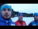 Антон Шипулин, Антон Бабиков и Александр Логинов поздравляют с Новым годом
