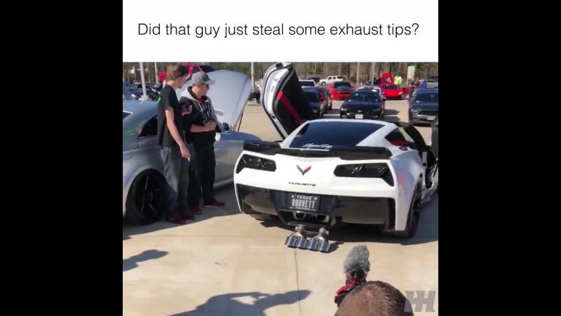 Corvette Lost Exhaust Tips
