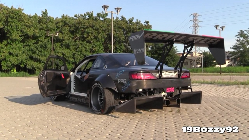 The Demon On 4 Wheels_ Brill Steel Carbon V8 S14.5 - Overview, Start Ups Revs