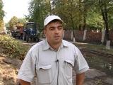 В рамках подготовке к осенне-зимнему периоду в городе Комсомольское проводится ремонт теплотрасс