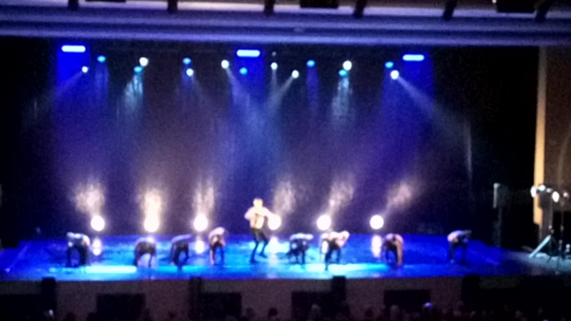 Театр танца Искушение шоу под дождем
