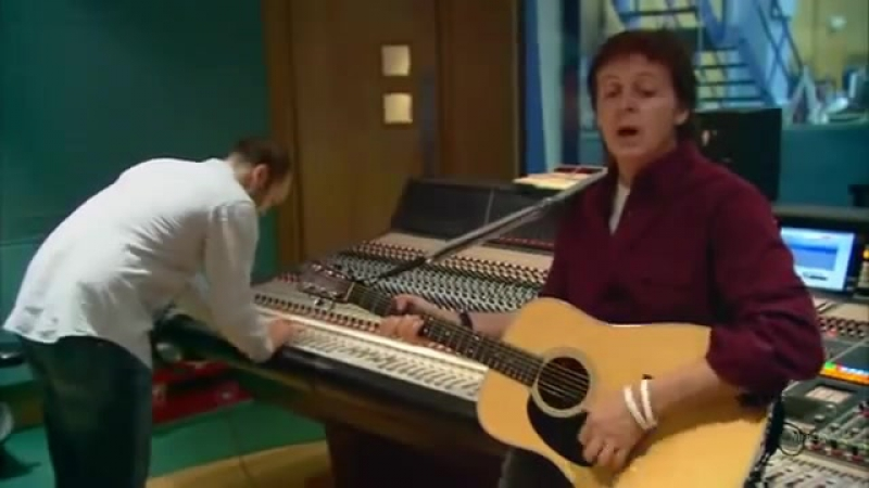 Paul McCartney Creating Chaos at Abbey Road.SUBT ESP