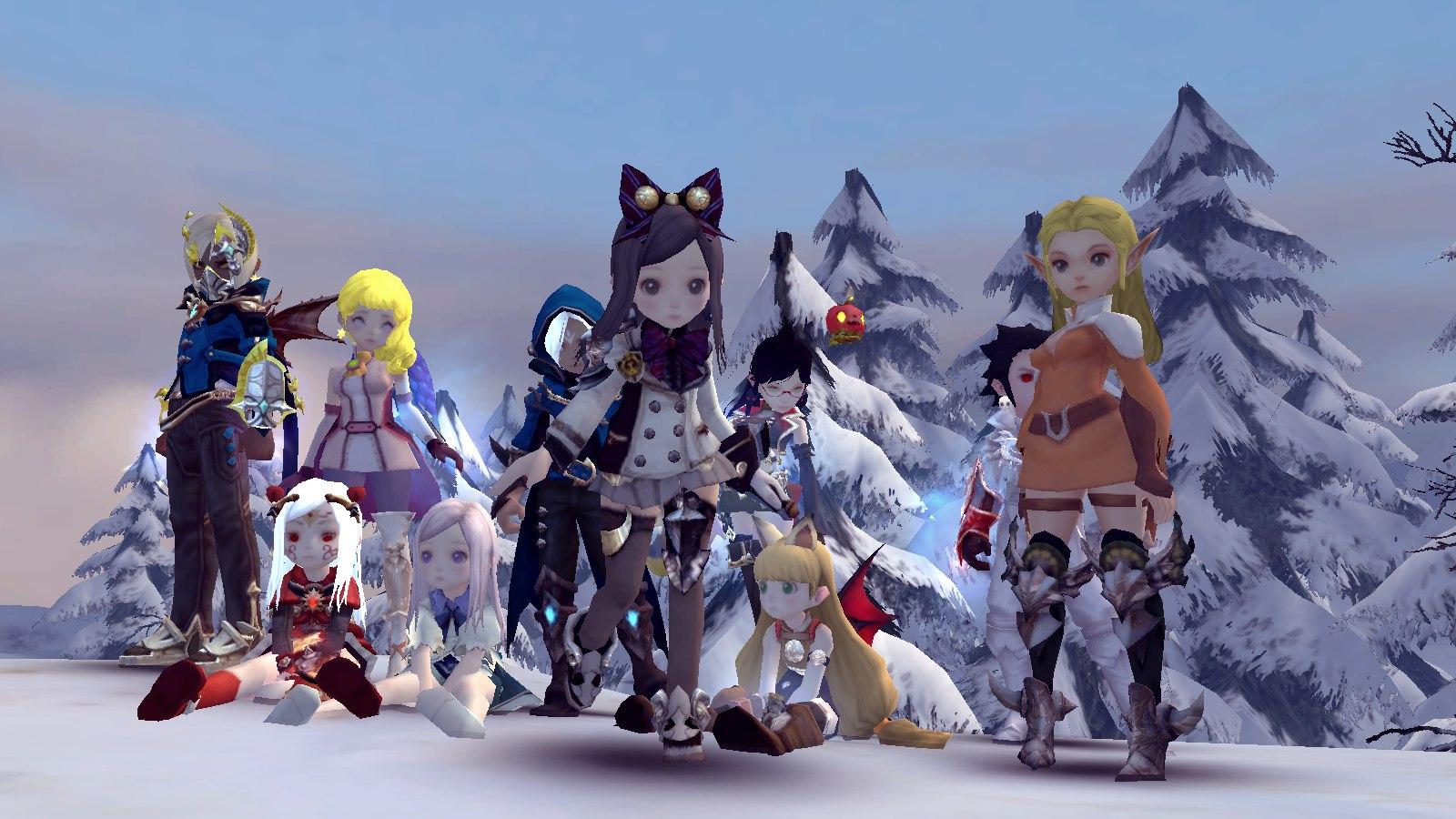 Прекрасный мир игры Dragon Nest