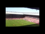 Steven Gerrard Goal and Chant vs man u (15.10.11)