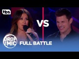 Drop the Mic Ashley Tisdale vs Nick Lachey - FULL BATTLE TBS
