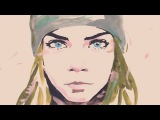 CHANELs GABRIELLE bag animated film with Cara Delevingne (Directors cut)