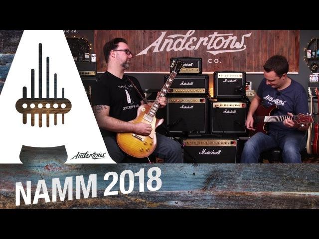 All New Marshall DSL Range - NAMM 2018