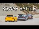 Civic EK K24 vs EG6 K20A vs EG6 K20A2 BC Castelloli 21 02 2016